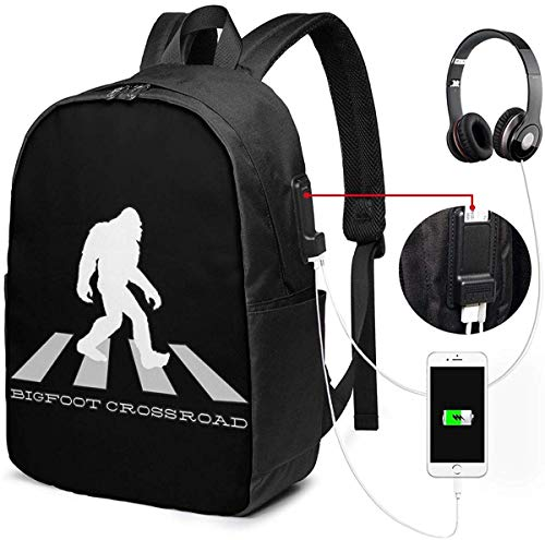 Silhouette HideUSB Rucksack Handgepäck Taschen 17 Zoll Laptop Rucksack