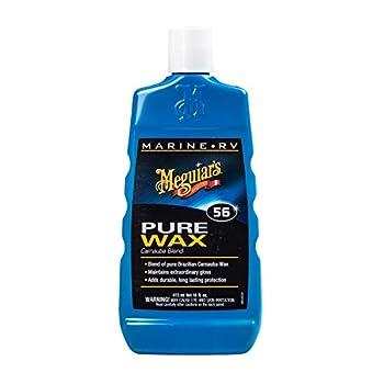 Meguiar's M5616 Marine/RV Pure Wax Carnauba Blend 16 Fluid Ounces