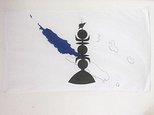 AZ FLAG Drapeau Nouvelle-Calédonie Province Nord 150x90cm - Drapeau néo-calédonien 90 x 150 cm Fourreau pour hampe