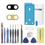 OKBICHI Lente de la cámara trasera de repuesto para iPhone 7 Plus y iPhone 8 Plus - Herramientas de reparación con protector de pantalla
