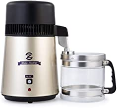 CO-Z Water Distiller, Stainless Steel Distilling Pure Water Machine for Home Countertop Table Desktop, 4L Distilled Water Making Machine, 4 Liter Water Purifier to Make Clean Water for Home