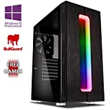 Vibox AX- 1 Gaming PC Ordenador de sobremesa con 2 Juegos Gratis, Windows 10 Pro OS (3,8GHz AMD A6 Dual-Core Procesador, Radeon R5 Gráficos Chip, 8GB DDR4 2400MHz RAM, 1TB HDD)