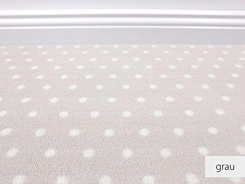 HEVO Die Vorwerk Bijou Kollektion - Bijou Petticoat in 7 Farben Teppichboden Mustermaterial - Inkl. 2% Bestellgutschein - Grau