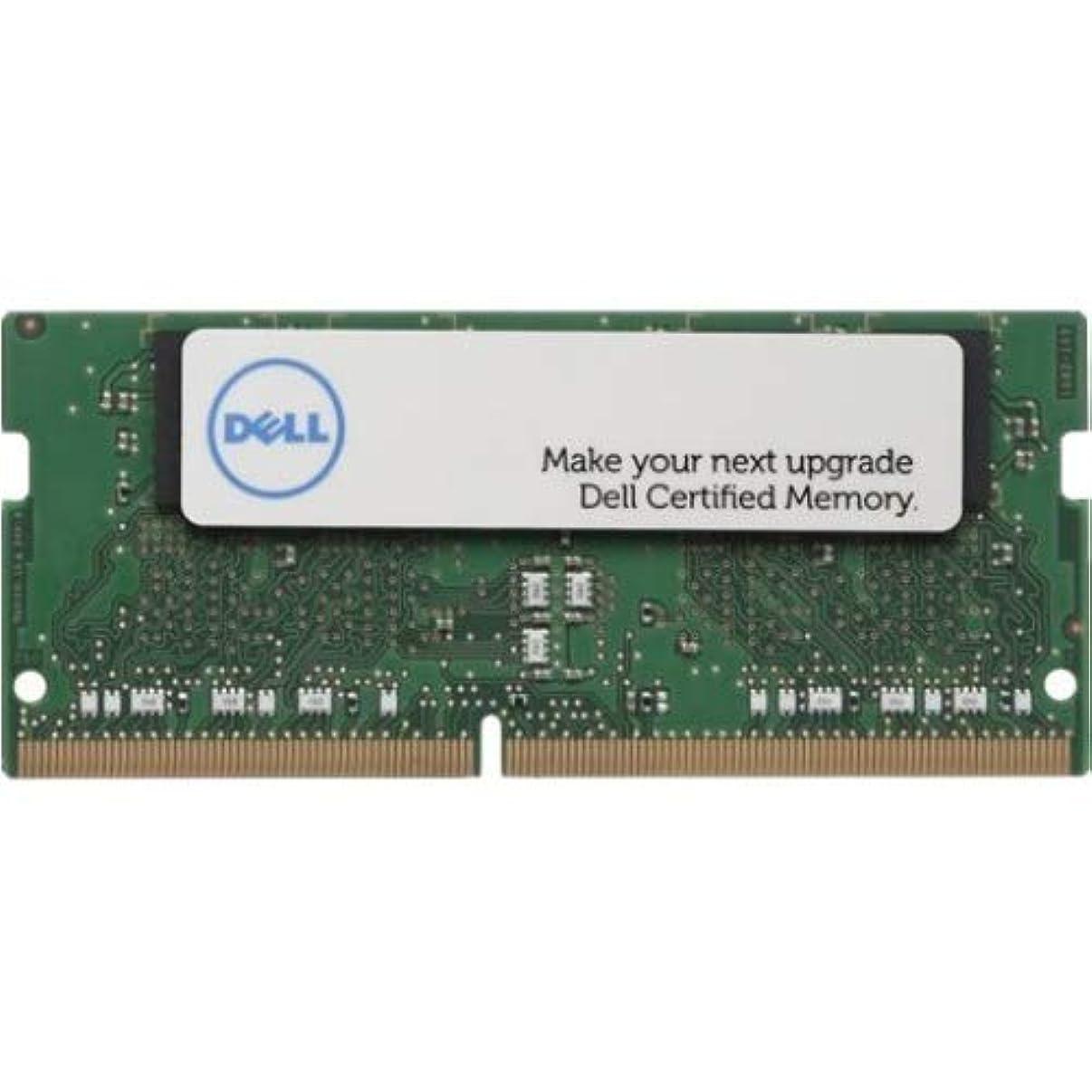 Dell 8GB DDR4 SDRAM Memory Module - 8 GB (1 x 8 GB) - DDR4 SDRAM - 2666 MHz DDR4-2666/PC4-21300 - 1.20 V - Non-ECC - Unbuffered - 260-pin - SoDIMM