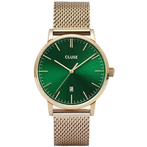 Cluse Aravis herenhorloge kwarts 40 mm stalen band CW0101501006