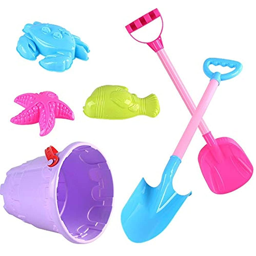 施しテープ証明子供の夏の砂のおもちゃ、ビーチおもちゃセット、知育玩具、親子玩具、柔軟、公園や海に美しい思い出を残す、収納袋付き