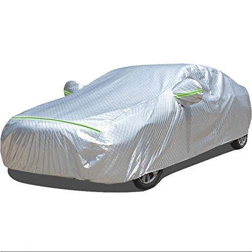 ERQINGCZ Wasserdichte Autoabdeckung Auto Deckt Wasserdichten Regenschirm Sonnenschirm Funda Für Peugeot 308 Suzuki Jimny Renault Fluence F10 Auto Versenkbare Vorhang