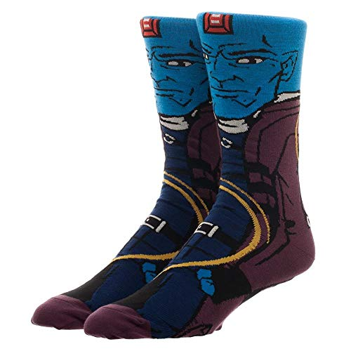 Guardians Of The Galaxy Yondu Character Collection One Pair Of Crew Socks