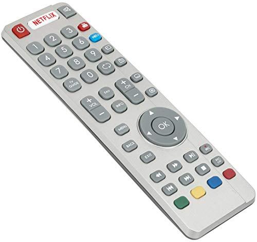 VINABTY SHWRMC0116 ErsatzFernbedienung für Sharp Aquos TV LC-49CFG6021E LC-43CFG6021K LC-43CFG6241K LC-32CHG6452K LC-32DHG6021K LC-49CUG8462KS LC-55CFG6242K LC-55CFG6351K LC-32CFG6021K LC-32CFG6032E