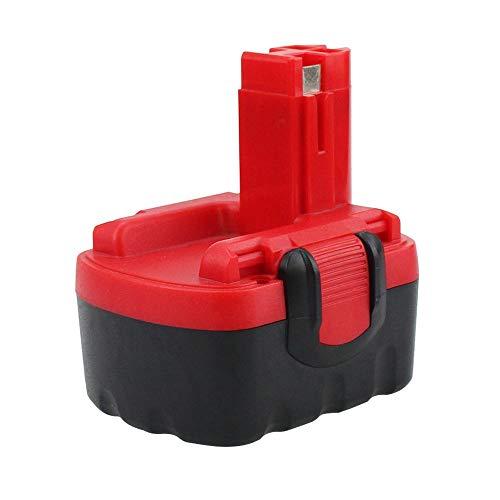 FUNMALL 14.4V 3.5Ah Batería para Bosch BAT038 BAT040 BAT041 BAT140 BAT159 2607335533 2607335275 2607335685 PSR 14.4 13614 13614-2G 15614