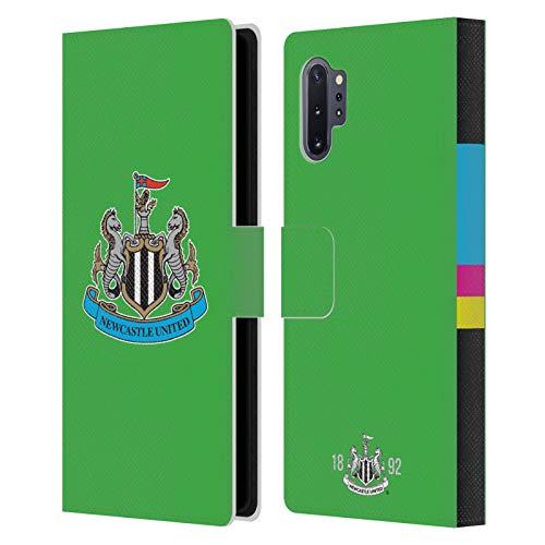 Head Case Designs Licenciado Oficialmente Newcastle United FC NUFC Portero Inicio Kit Carcasa de Cuero Tipo Libro Compatible con Samsung Galaxy Note10+
