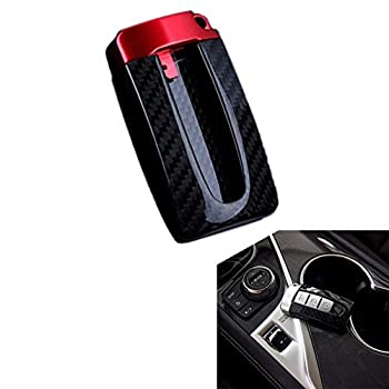 Newsmarts Carbon Fiber Key Fob Shell Cover Replacement for Nissan Infiniti GTR X-Trail Frontier Rogue