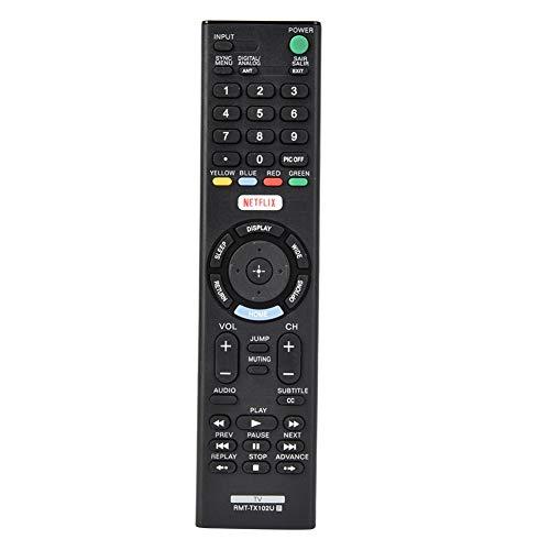 Afstandsbediening, multifunctionele Smart TV-bediening voor RMT-TX102U RMT-TX100D RMT-TX101J RMT-TX102U RMT-TX102D RMT-TX101D RMT-TX100E RMT-TX101E, vervangende tv-afstandsbediening