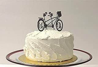 Tandem Bicycle Wedding Cake Topper Bike Cake Topper We Do Wedding Cake Topper Mountain Bike Cake Topper Cyclist Cake Topper