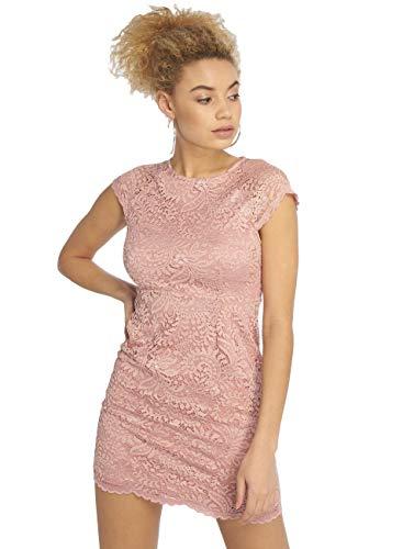 ONLY NOS Damen Kleid onlSHIRA LACE Dress NOOS WVN, Rosa (Pale Mauve), (Herstellergröße: 40)
