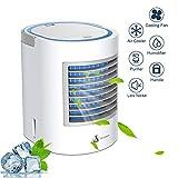 Anbber Condizionatore Portatile 4-in-1 Mini Raffrescatore Evaporativo Umidificatore...