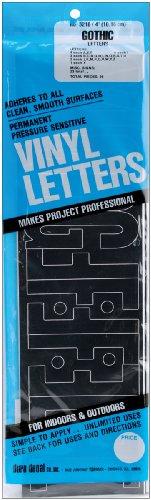 Graphic producten Vinyl permanente lijm letters 4 inch 95/stuks