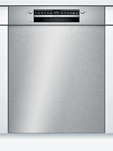 Preisvergleich Produktbild Bosch SMU4HVS31E Serie 4 Unterbau-Geschirrspüler / E / 60 cm / Edelstahl / 94 kWh / 100 Zyklen / 13 MGD / Silence / Extra Trocknen / VarioSchublade / Home Connect
