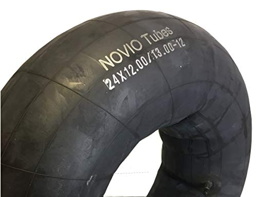 Slang 24 x 12.00/13.00-12 geschikt voor banden voor zitmaaier grasmaaier, recht ventiel