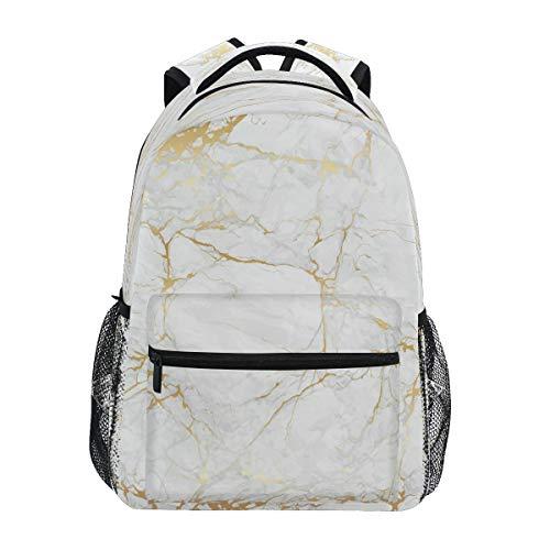 SunsetTrip - Mochila con diseño de textura de mármol, bolsa de hombro, para colegio, para niños, niñas, hombres, mujeres, senderismo, viajes, mochila