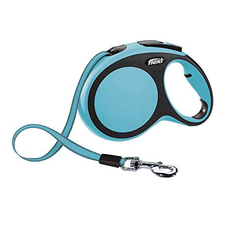 Flexi CR04103AZ New Confort Laisse pour Chien Bleu Taille L