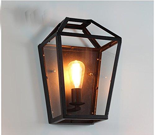 Le nouvel intérieur des lampes de mur lampes de jardin balcon fuselage large américains lumières européenne rétro éclairage de la lampe de mur du couloir de jardin en plein air Creative