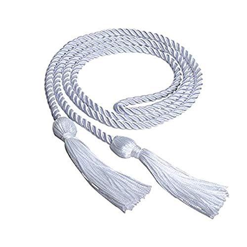 Anchang Honor Code Graduation Rope, Zeremonie Foto String mit handgemachten Quaste Gedenk,Weiß