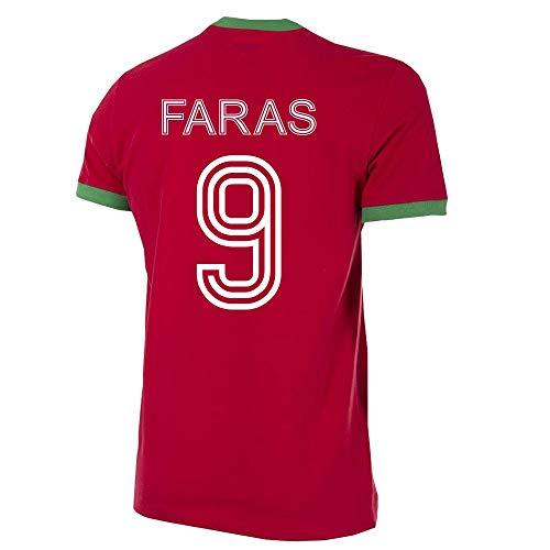 Copa Marokko Faras 9 Retro Trikot 1970 - M