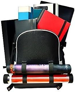 Ultra Pro Citadel Backpack by (Black with Silver Trim) (85350): Amazon.es: Juguetes y juegos