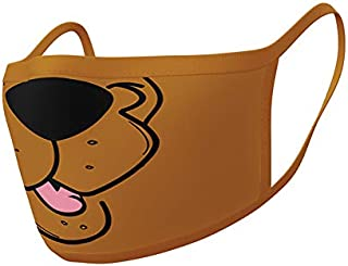 Scooby Doo! Face Covers (2 Pieces Per Pack)
