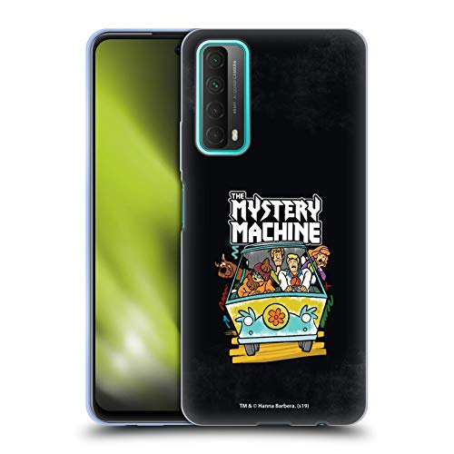 Head Case Designs sous Licence Officielle Scooby-Doo Grunge Mystery Machine Mystery Inc. Coque en Gel Doux Compatible avec Huawei P Smart (2021)