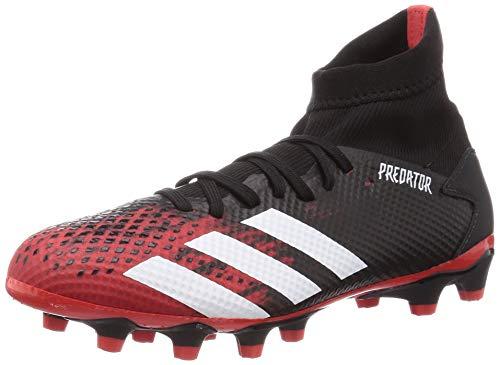 adidas Herren Predator 20.3 Mg Fußballschuhe, Mehrfarbig (Kern Schwarz/FTWR Weiss/Aktiv Rot), 43 1/3 EU