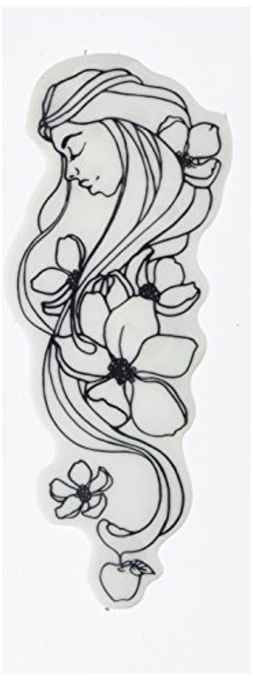 Prima Marketing 980672 Eve Jamie Dougherty Creating in Faith Cling Stamps, 2.25