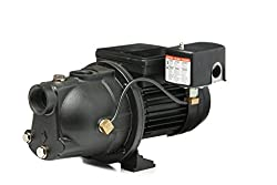 Red Lion PWJET50 Cast Iron Shallow Well Jet Pump Wells up to 25 Feet