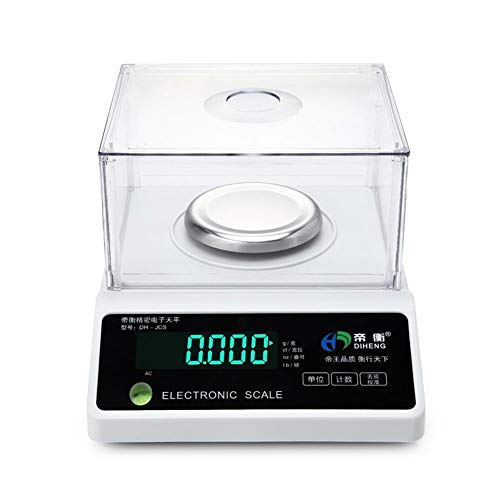 YZSHOUSE Oksmsa Laboratorio Balance Escala 0.001g Digital Analítico Peso Escala Electrónica Precisión Escala De Joyas (Color : 1kg/0.1g)