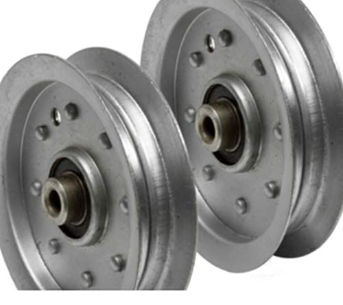 Compatible Parts_ 2PK Heavy Dutу Idler Pulley 3/8