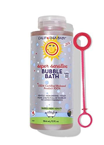 California Baby Super Sensitive Bubble...
