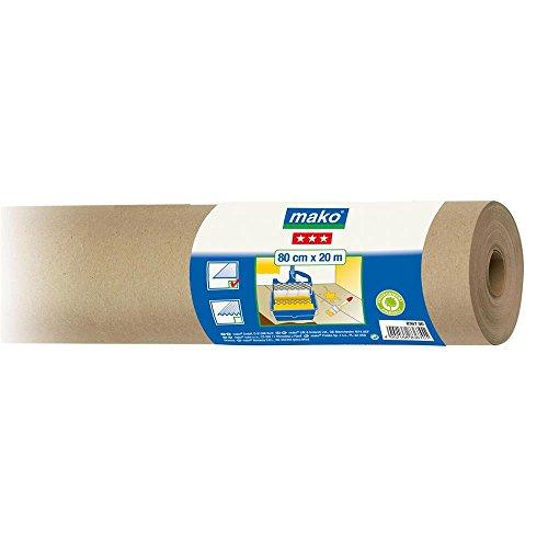 Maler Abdeckpapier Schutzpapier glatt 100% Altpapier 1 m x 20 m