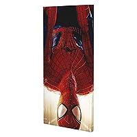 "Spider Man インテリア キャンバス 絵画 家の壁 装飾画 壁飾り 壁ポスター パネル インテリア 装飾 ソファの背景絵画 10"" X 20"" 雰囲気 癒し"