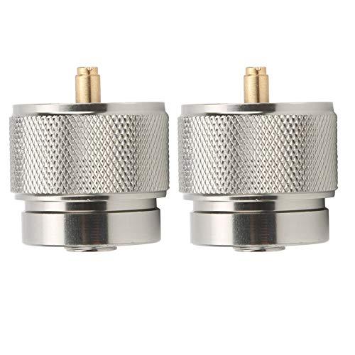 Aoutecen Convertidor de Cilindro de Gas en Cassette, aleación de Aluminio liviano,...