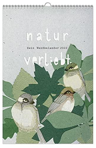 natur-verliebt: Dein Wandkalender 2022