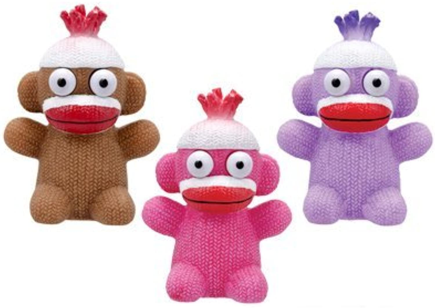 I Pop Sock Monkeys, Multi by Sock Monkey
