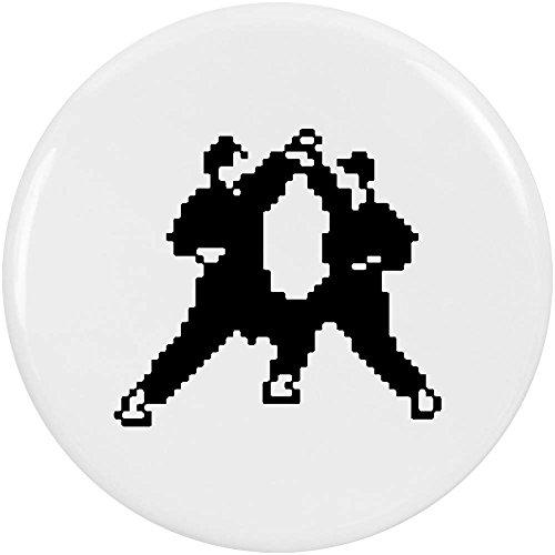Azeeda 2 x 38mm'Pixel Karate' Pin Knopf-Abzeichen (BB00050518)