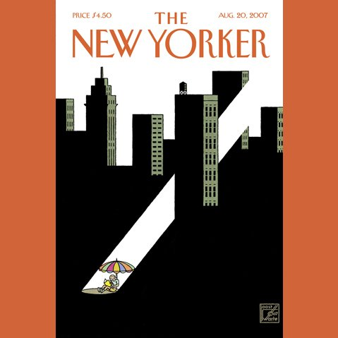 The New Yorker (August 20, 2007) audiobook cover art