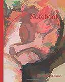 Notebook: Pink Nude - Caryatid, Amedeo Modigliani, c. 1914 reimagined