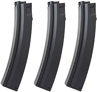 電動ガン MP5シリーズ 対応 MAG製 90連 スペアマガジン スプリング給弾 3本セット
