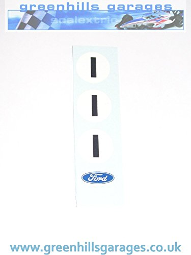Greenhills Scalextric No.1 Waterslide Roundels & Ford Badge