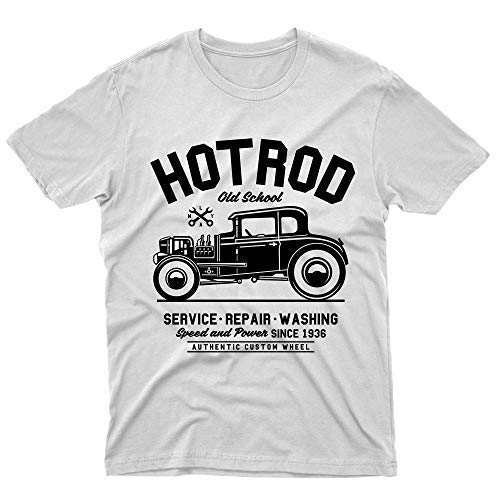 HOT ROD CLASSIC CAR Moonshine Rockabilly Vintage Con Whiskey T Shirt S-5XL