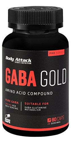 Body Attack Gaba Gold 80 Kapseln, 1er Pack (1 x 95 g)