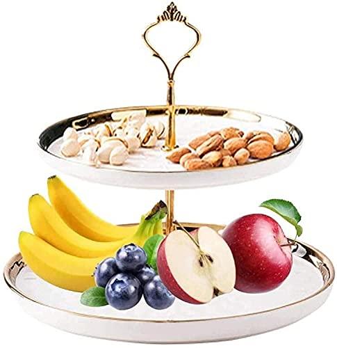 Especial/Simple Frutas Cuencos Cromado Hamaca de frutas de balanceo, tazón de vegetal...